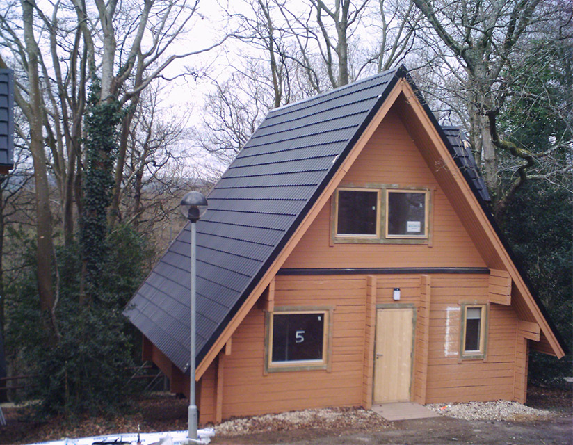 Lightweight Metal Roof Tiles For Log Cabins